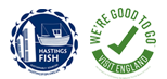Hastings Fish and Good to Go Logos